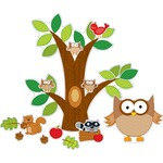 searching for carson owl bulletin board set  - large variety - sku: cdp110137