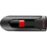 SanDisk Cruzer Glide 4 GB USB 2.0 Flash Drive - Black SDCZ60-004G-B35S