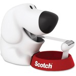 order 3m scotch friendly dog tape dispenser w tape - free shipping offer