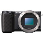 Sony alpha NEX-5R 16.1 Megapixel Mirrorless Camera (Body Only) - Black NEX5RB