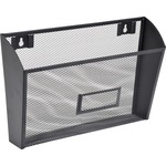 trying to find lorell black mesh wire wall pocket  - wide selection - sku: llr84144