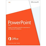 Microsoft PowerPoint 2013 32/64-bit - License - 1 PC 079-05835