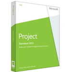 Microsoft Project Standard 2013 32/64-bit - License - 1 PC 076-05068