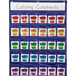 get the lowest prices on carson reinforcement pocket chart   - great service - sku: cdp158161