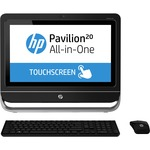 HP Pavilion TouchSmart 20-f200 20-f249 All-in-One Computer - AMD E-Series E1-2500 1.4GHz - Desktop H5N97AA#ABL