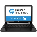 "HP Pavilion TouchSmart 15-n000 15-n080ca 15.6"" Touchscreen LED (BrightView) Notebook - AMD - A-Series A6-5200 2GHz - Sparkling Black - Anodized Silver F5U88UA#ABL"