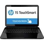 "HP TouchSmart 15-d000 15-d020ca 15.6"" Touchscreen LED (BrightView) Notebook - AMD - E-Series E2-3800 1.3GHz - Sparkling Black F5Y42UA#ABL"