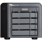 Promise Pegasus2 M4 DAS Array - 4 x HDD Supported - 4 x HDD Installed - 4 TB Installed HDD Capacity P2M4HD4US
