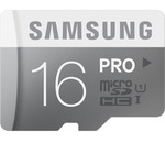 Samsung PRO 16 GB microSD MB-MG16DA/CA