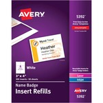 need some avery laser inkjet badge refills   - discount prices - sku: ave5392