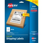 buying avery inkjet perforated internet shipping labels - extensive selection - sku: ave8126