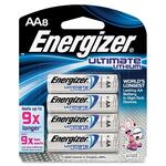 shop for energizer e2 photo lithium aa batteries - terrific pricing - sku: evel91bp8