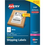 avery white shipping labels - sku: ave5126 - order online