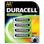 duracell rechargeable aa batteries - we have ready to ship at business-supply.com - sku: durdc1500b4n