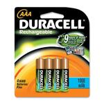 duracell rechargeable aaa batteries - sku: durdc2400b4n - outstanding customer service