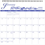 shop for at-a-glance illustrated monthly wall calendar - reduced pricing - sku: aagg100017