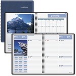 buy at-a-glance weekly monthly scenic appointment book - us-based customer service staff - sku: aagg70017