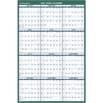 at-a-glance yearly vertical erasable wall planner  - sku: aagpm21028 - new  lower prices