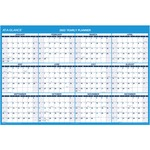 lowered prices on at-a-glance erasable yearly horizontal wall planners - ulettera fast shipping - sku: aagpm30028