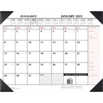 shop for at-a-glance refillable 2-color desk pad - wide selection - sku: aagsk117000