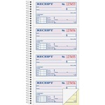get adams wirebound money rent receipt books - super fast delivery - sku: abfsc1152