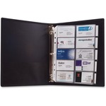 reduced prices on anglers 3-ring business card binder - extensive selection - sku: ang303
