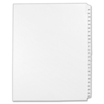 avery collated numerical side tab index dividers - sku: ave01338 - order online