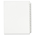 avery collated numerical side tab index dividers - fast shipping - sku: ave01344