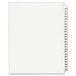 large variety of avery collated numerical side tab index dividers - top notch customer service - sku: ave01345