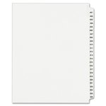 pick up avery collated numerical side tab index dividers - new  lower pricing - sku: ave01346