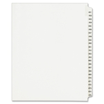 buy avery collated numerical side tab index dividers - discounted prices - sku: ave01348