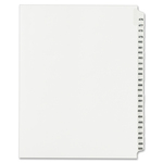 get avery collated numerical side tab index dividers - rapid delivery - sku: ave01349
