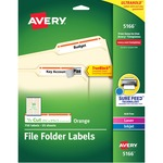 lowered prices on avery permanent assorted laser inkjet filing labels - rapid shipping - sku: ave5166