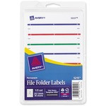shop for avery permanent 1 3 cut file folder labels - super fast shipping - sku: ave05215