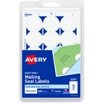 avery east peel round mailing seals - toll-free customer support - sku: ave05247