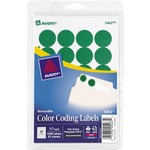 buy avery print or write round color-coding labels - huge selection