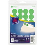 find avery round removable color-coding neon labels - top rated customer support - sku: ave05468