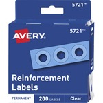find avery reinforcement labels  - excellent customer support - sku: ave05721