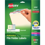 lower prices on avery removable laser inkjet filing labels - quick delivery - sku: ave6466