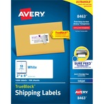 reduced prices on avery white inkjet shipping labels - order online - sku: ave8463