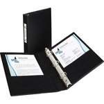 wide assortment of avery 1  presentation binder w  label holder - professional customer care - sku: ave27257