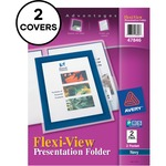 get avery flexi-view 2-pocket folders - ulettera fast shipping - sku: ave47846