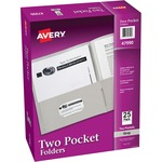 in the market for avery 2-pocket folders w o fasteners  - wide-ranging selection - sku: ave47990