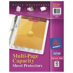 wide assortment of avery multi-page top-loading sheet protectors - top notch customer care staff - sku: ave74172
