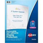 avery removable self-adhesive display protectors - sku: ave74404 - us-based customer care