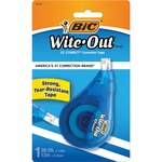 order bic wite-out brand correction tape - terrific pricing - sku: bicwotapp11