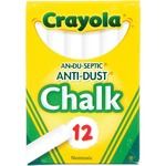 lower prices on crayola anti-dust chalk - rapid shipping - sku: cyo501402