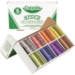 order crayola large classpack crayons - excellent prices - sku: cyo528008