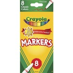 crayola fine tip classic markers - sku: cyo587709 - toll-free customer support staff