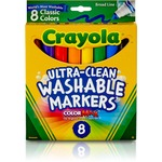 shop for crayola classic washable marker set - broad selection - sku: cyo587808